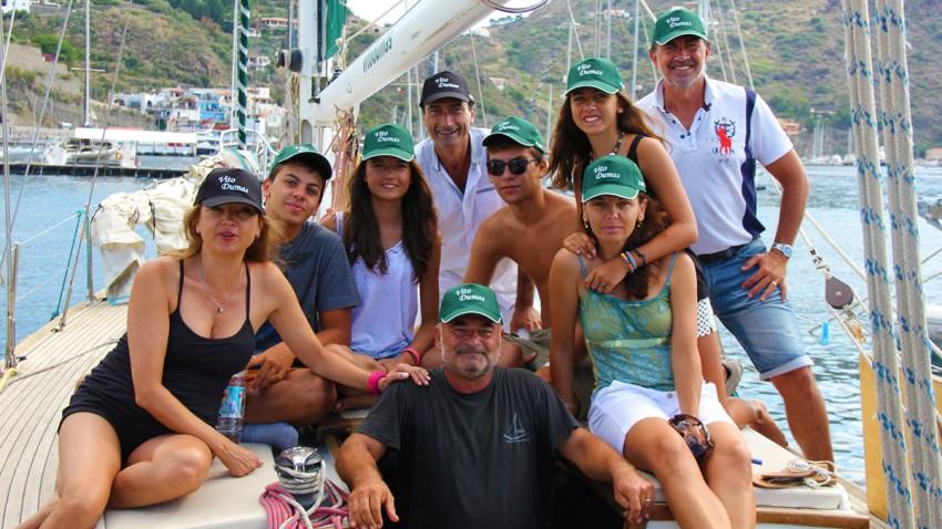 2 gruppo vacanza barca a vela vito dumas
