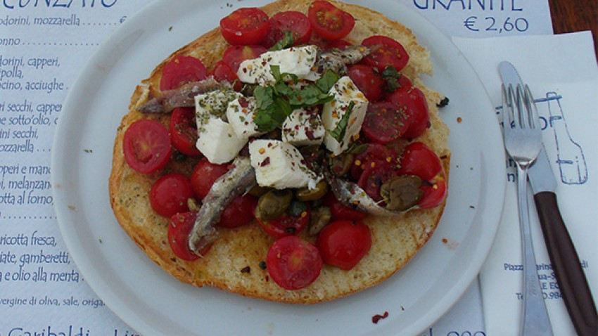 3 ottima cucina mediterranea in barca vela