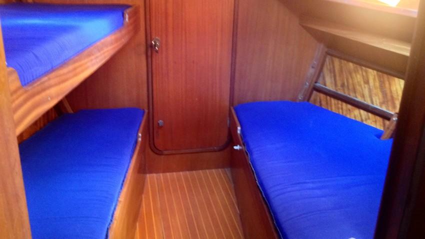 4 camera della Barca a vela Vito Dumas